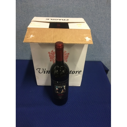11 - 6 bottles of red wine...