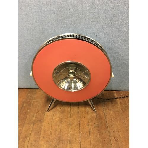 33 - vintage retro 1950s 60s sofono heater...
