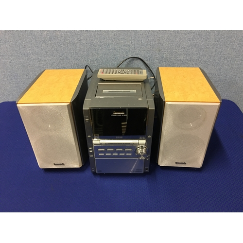 44 - panasonic hifi & speakers...