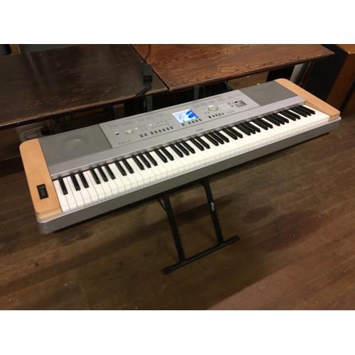 46 - large casio keyboard  (working but display screen broken)...