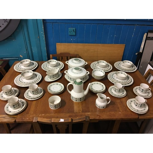 46 - Large Royal Doulton Tapestry dinner service set....