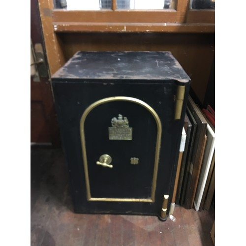51 - Vintage T Ramsey safe made in Belfast. (has been converted into bar)...