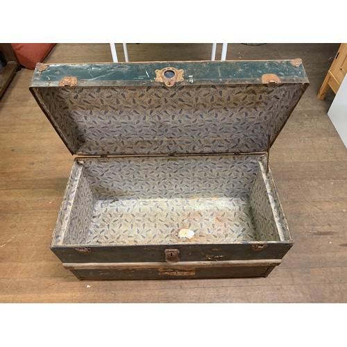 12 - Vintage travel trunk....
