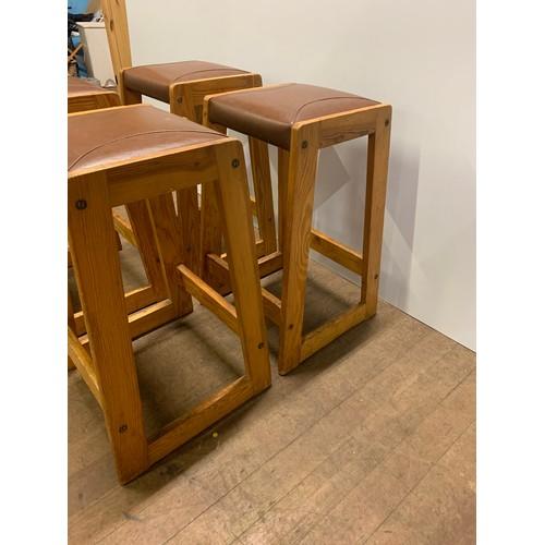 13 - 4 Retro stools....