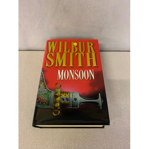 15 - Hand singed Wilbur Smith Novel