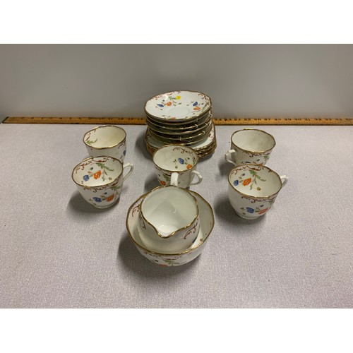 36 - 17 piece vintage Royal Albert tea set....