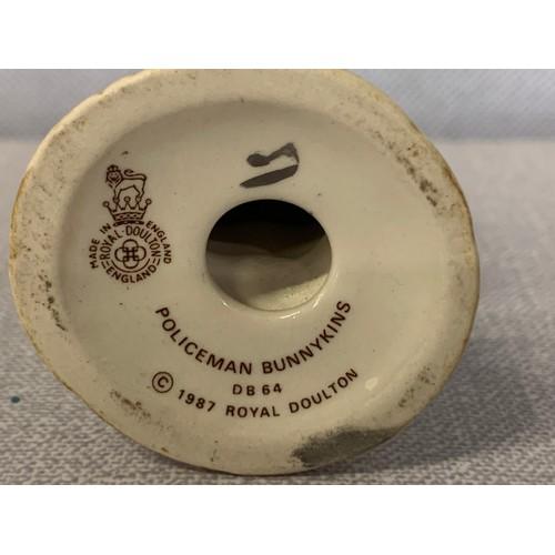 42 - Royal Doulton policeman Bunnykins figure....