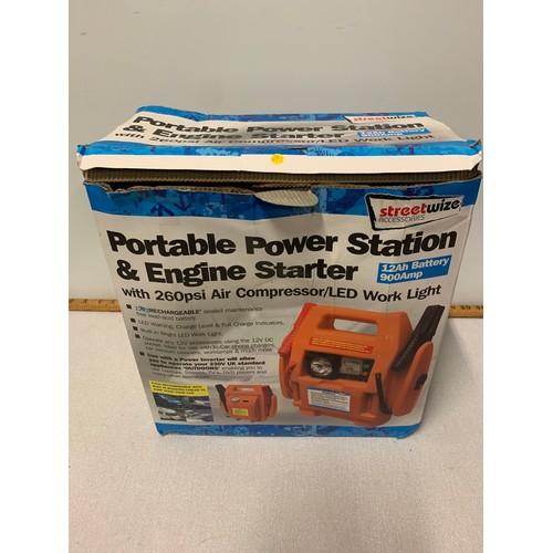 500 - portable power station & engine starter...