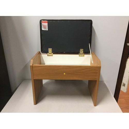 43 - Retro Piano stool with storage.