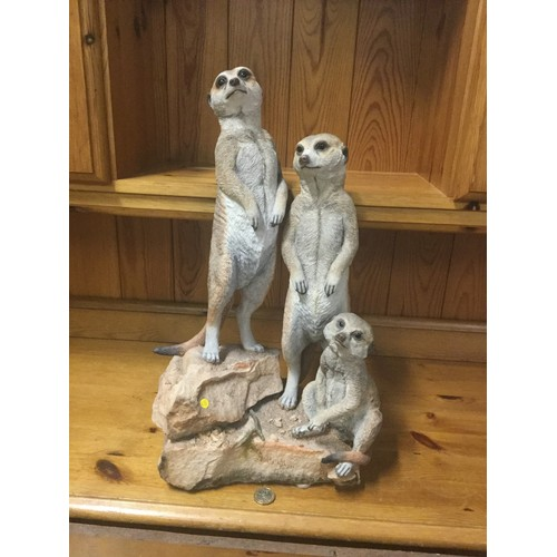 45 - Large Country Artists Meerkat group ornament
