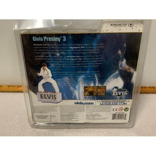 28 - 2 x new and sealed  McFarlane Toys Las Vegas Elvis 3 figures.