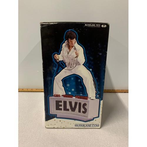 29 - New Boxed Las Vegas presents Elvis Presley figure.