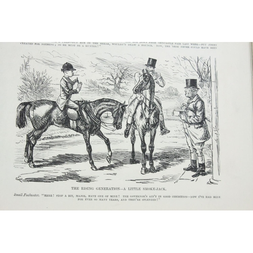 41 - Book - Pictures of Life & Character by John Leech from the collection of Mr Punch (third series)...