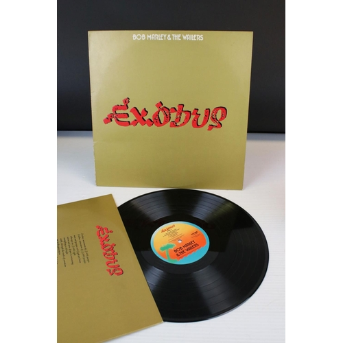 117 - Vinyl - Two Bob Marley LPs to include Exodus ILPS9498, embossed sleeve and Catch a Fire ILPS ILPS 92...
