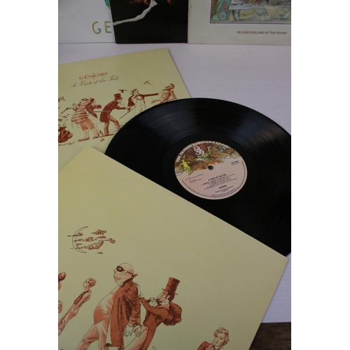 120 - Vinyl - Six Genesis LPs to include Abacus, Duke, And Then There Were Three, A Trick of the Tale, Win...