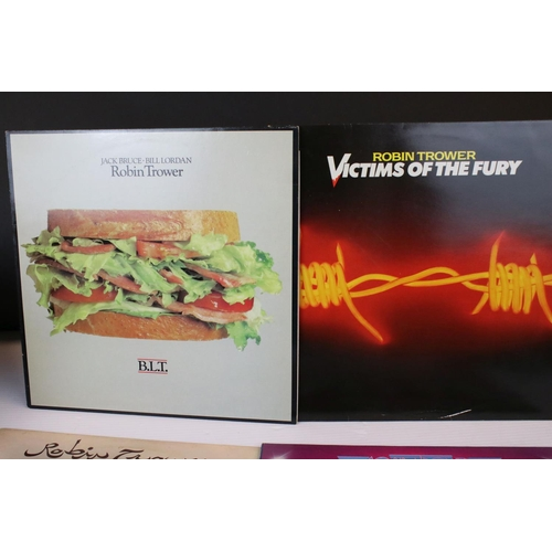 193 - Vinyl - Six Robin Trower LPs to include In City Dreams, Victims of the Fury, BLT, Truce, For Earth B...