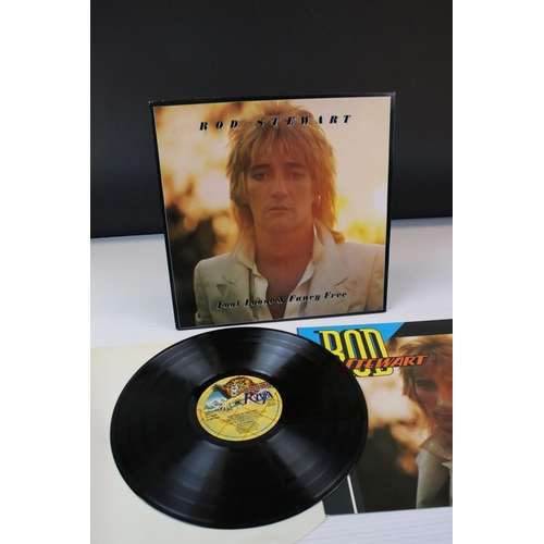 421 - Vinyl - Rod Stewart x 5 LP's to include Atlantic Crossing, Sing It Again Rod, Foot Loose And Fancy F...