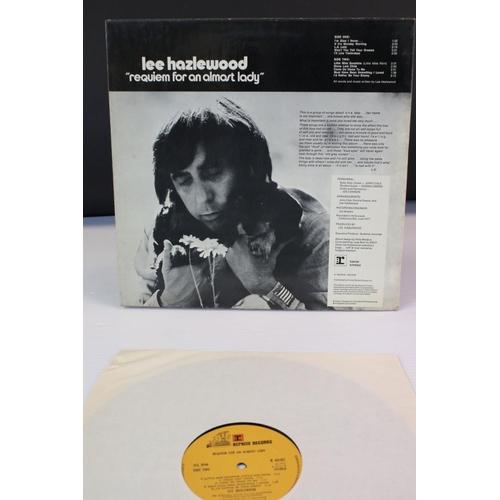 427 - Vinyl - Lee Hazelwood 'Requiem For An Almost Lady (Reprise K 44161) sleeve needs a reglue but a dece...