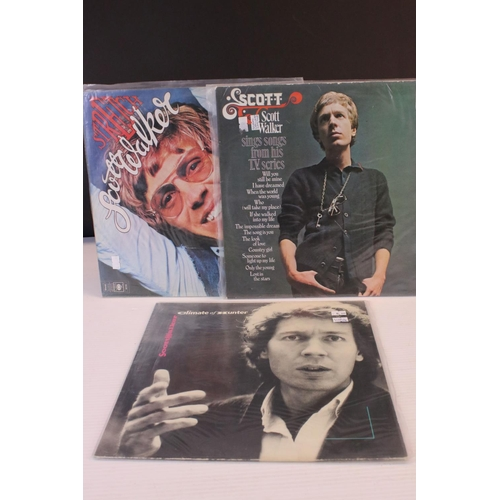 429 - Vinyl - Scott Walker x 3 LP's to include Stretch (CBS S65725), Songs From His TV Series (Philips SBL...