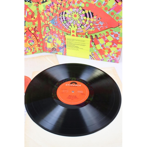 435 - Vinyl - Cream Wheels Of Fire (Polydor 583031/2) Stereo, double album.  Sleeve has some losses to spi...