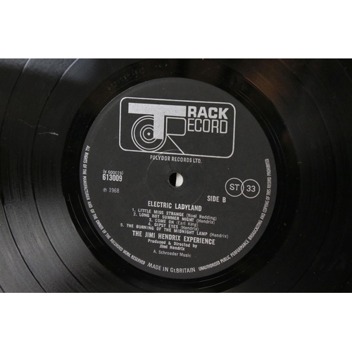 439 - Vinyl - Jimi Hendrix Experience Electric Ladyland (Track 613008/9) white text, Jimi to the right.  S...
