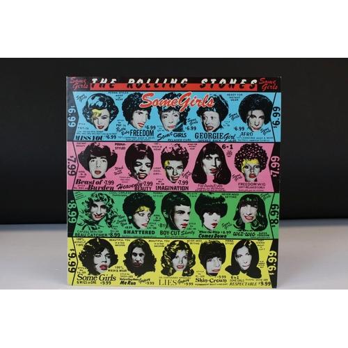 500 - Vinyl - Rolling Stones Some Girls (CUN 39108) sleeve & vinyl EX