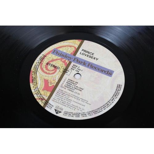 509 - Vinyl - Prince 3 LP's to include Batman (925 936) German pressing, Lovesexy (925 720) German pressin...