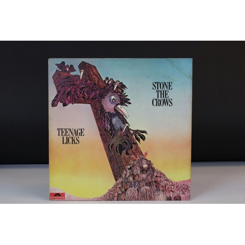 513 - Vinyl - Stone The Crows Teenage Licks (Polydor 2425 071) a nice example.  Sleeves & Vinyl at least V...