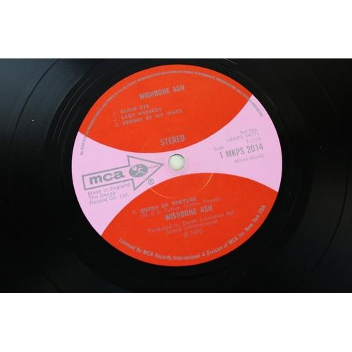 519 - Vinyl - Wishbone Ash Self Titled (MKPS 2014) red and pink MCA label, gatefold sleeve.  Sleeve & Viny...