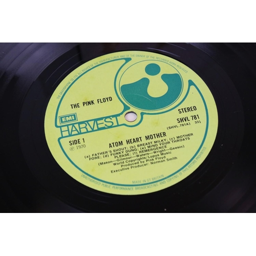 520 - Vinyl - Pink Floyd 2 LP's to include Meddle (SHVL 795) The Gramophone Col Ltd to perimeter of label,...