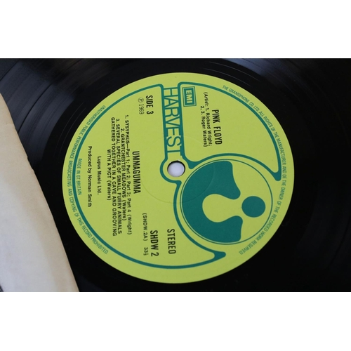 523 - Vinyl - Pink Floyd 2 LP's to include Ummagumma (SHDW 1/2) EMI to label, The Gramophone Co Ltd to per...