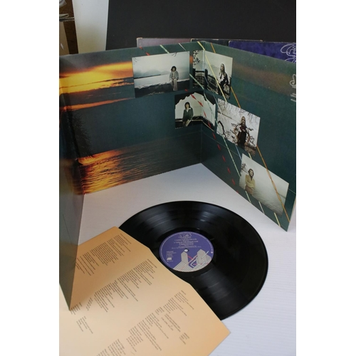830 - Vinyl - YES 6 LP's to include Fragile (K 30009) orange and green label, with booklet, Close To The E...