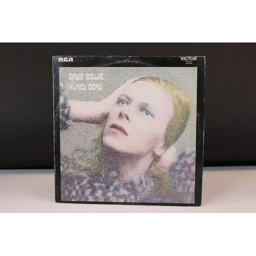 832 - Vinyl - David Bowie Hunky Dory (SF 8244) RCA Orange label with Mainman . Chrysalis publishing credit...