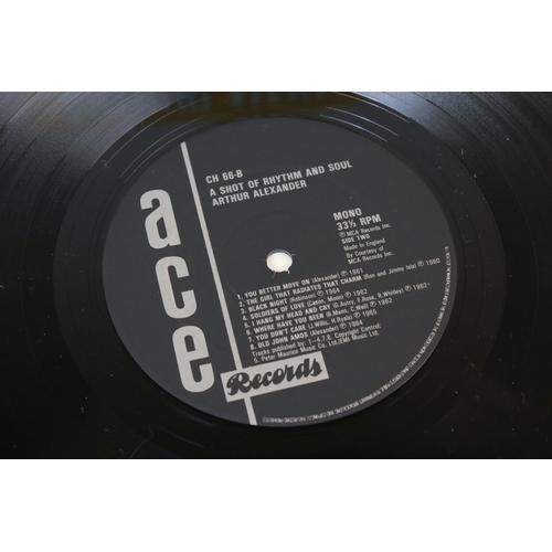 90 - Vinyl - Arthur Alexander A Shot of Rhythm and Soul on ACE CM66, sleeve and vinyl ex