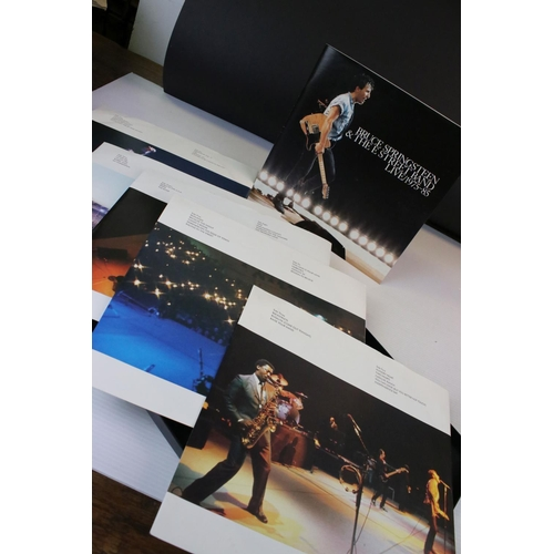 170 - Vinyl - Five Bruce Springsteen LPs plus The Live 1975-1985 Box Set, LPs include Tunnel of Love, Dark...
