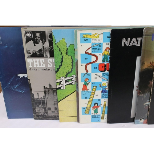 403 - Vinyl - Rock & Pop collection of over 80 LP's featuring Roxy Music, Santana, Phil Collins, Dr Feelgo...
