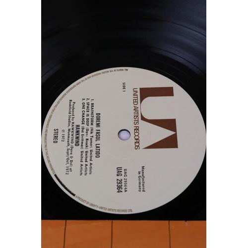 491 - Vinyl - Hawkwind Doremi Fasol Latido (UAG 29364) German pressing, correct printed inner, no poster. ...