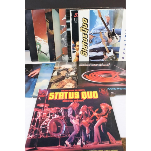 494 - Vinyl - Status Quo collection of 11 LP's and 2 12