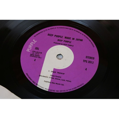 499 - Vinyl - Deep Purple 3 LP's to include Made In Japan (TPS 3511/2) first pressing with correct matrice...