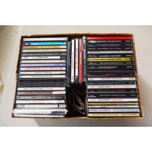 368 - CD - Around 240 CDs featuring various artists and genres