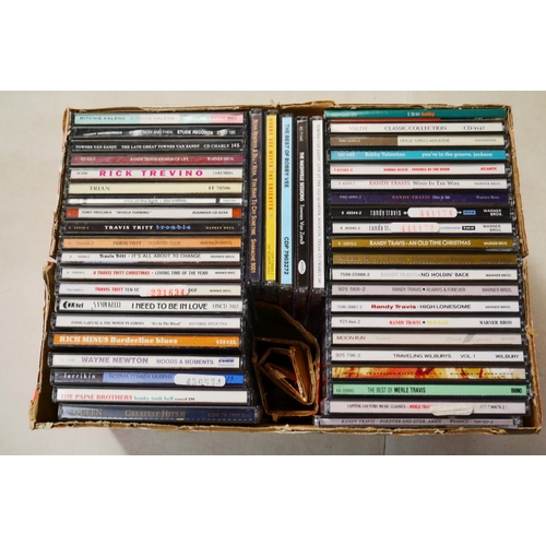 369 - CD - Around 300 CDs featuring various artists and genres