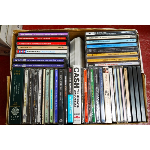 554 - CD's - Over 300 CDs spanning the genres and decades to include many Country artists