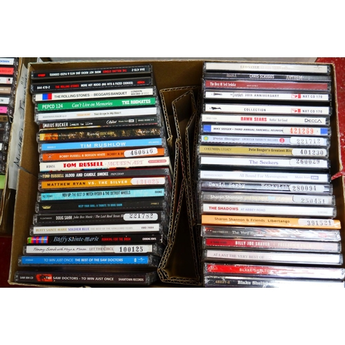 558 - CD's - Over 300 CDs spanning the genres and decades to include Van Morrison, Stax/Volt compilations,...