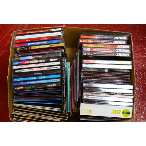 566 - CD's - Over 300 CDs spanning the genres and decades to include many Country, Hank Williams Jr, Roy O...