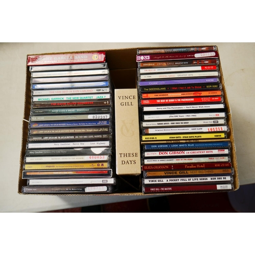 371 - CD - Around 240 CDs featuring various artists and genres including many Country and 'newspaper givea...