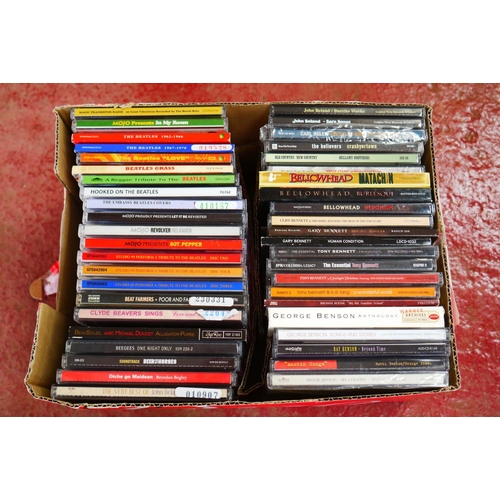 550 - CD's - Over 300 CDs spanning the genres and decades to include The Beatles, Bruce Springsteen, many ...