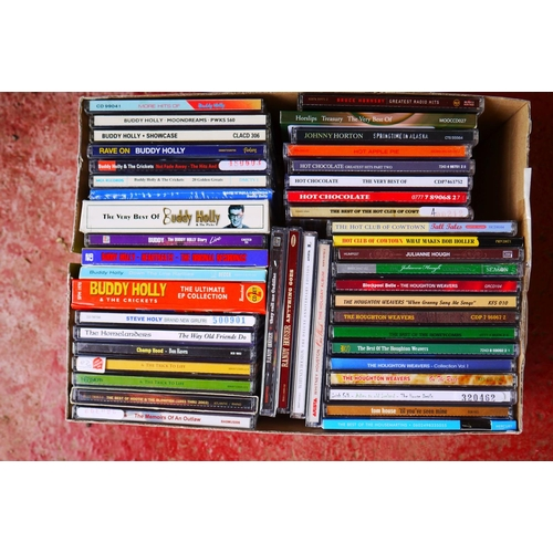 551 - CD's - Over 300 CDs spanning the genres and decades to include Neil Young, Lindasfarne, many Country...