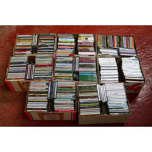 552 - CD's - Over 300 CDs spanning the genres and decades to include Dean Martin, Hit Parade, Johnny Mathi...
