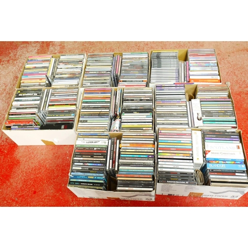 559 - CD's - Over 300 CDs spanning the genres and decades to include REM, Elvis, Van Morrison, Rolling Sto...
