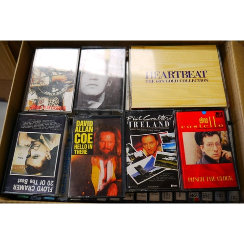 571 - Cassette Tapes - Over 1000 tapes to include Country, Easy Listening, MOR and other genres, spanning ...